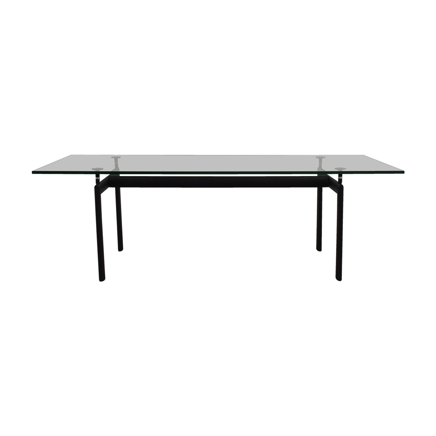 Kardiel Kardiel LC6 Black Base and Glass Top Dining Table price