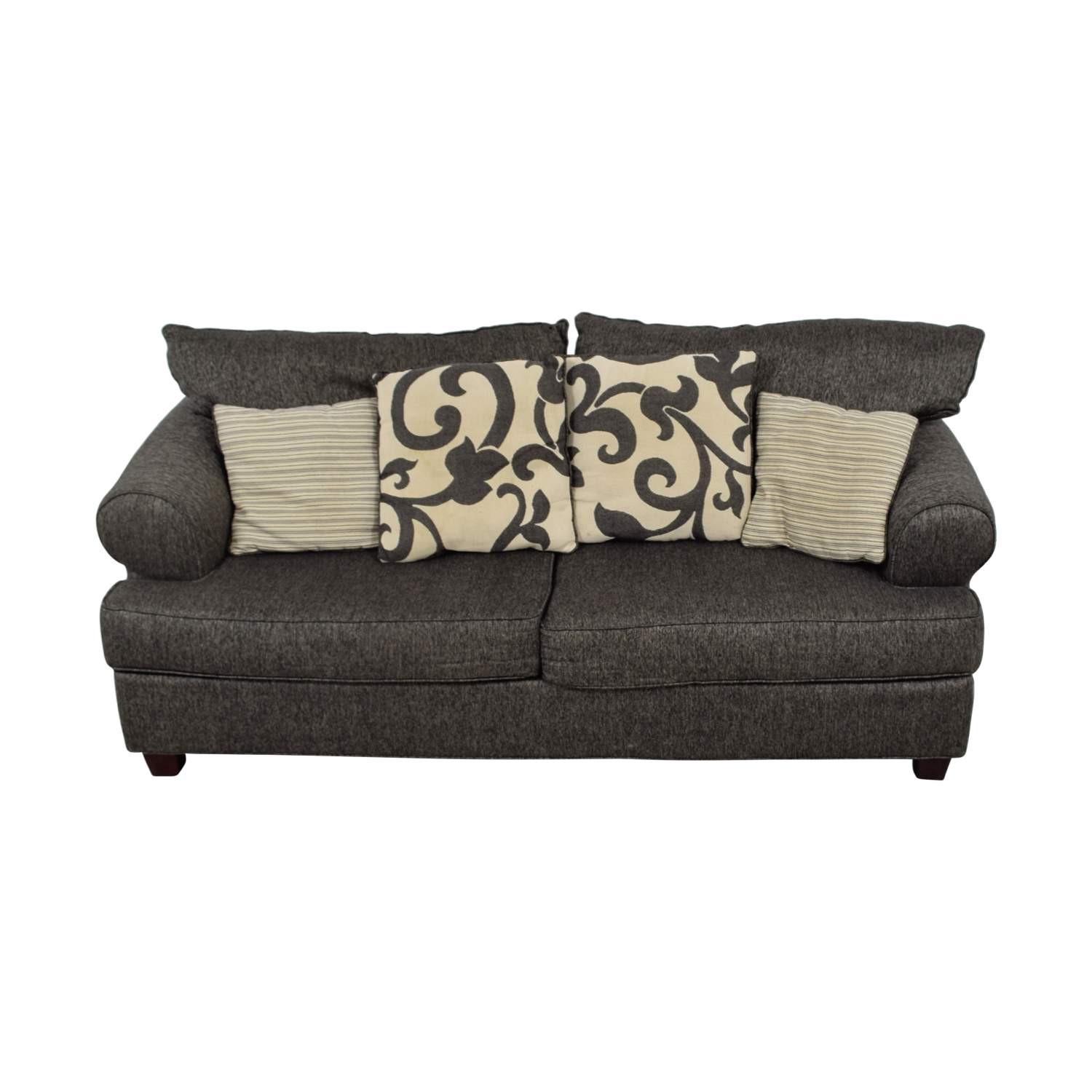 Bob's Furniture Bob's Furniture Big Grey Two-Seater Sofa for sale