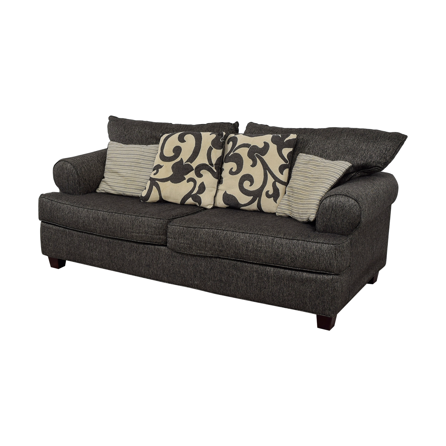 Bob's Furniture Bob's Furniture Big Grey Two-Seater Sofa coupon
