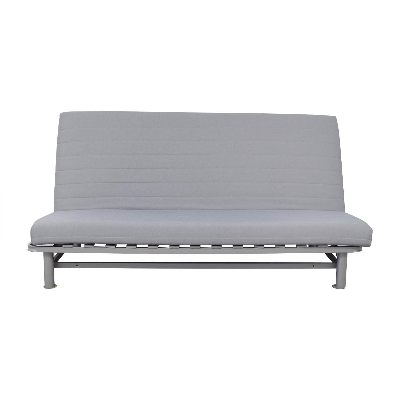 33 Off Ikea Grey Futon Sofas