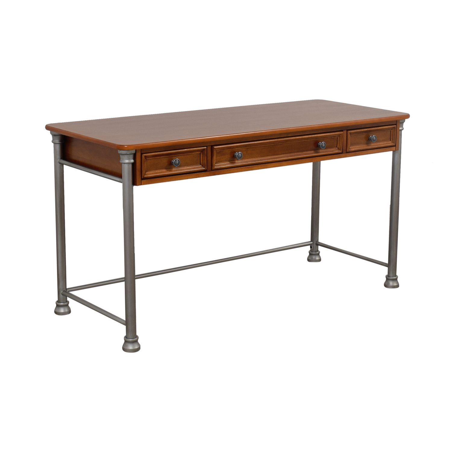 Homestyle Homestyle Two Drawer Desk with Keyboard Drawer coupon