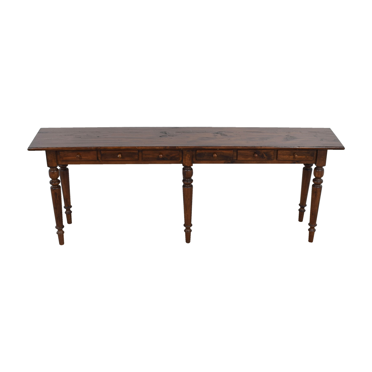 Pottery Barn Pottery Barn Tivoli Six-Drawer Console Table Tables