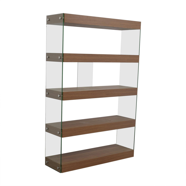 buy Made.com Made.com Wood and Glass Bookcase online