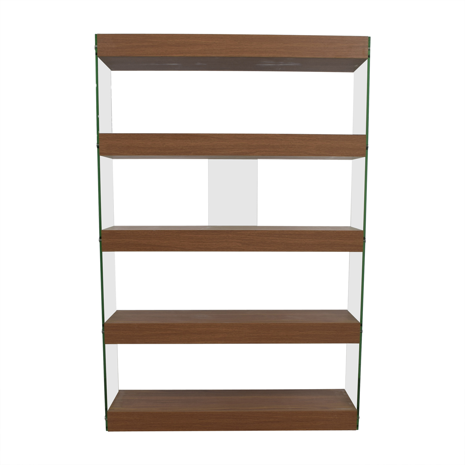 buy Made.com Wood and Glass Bookcase Made.com Bookcases & Shelving