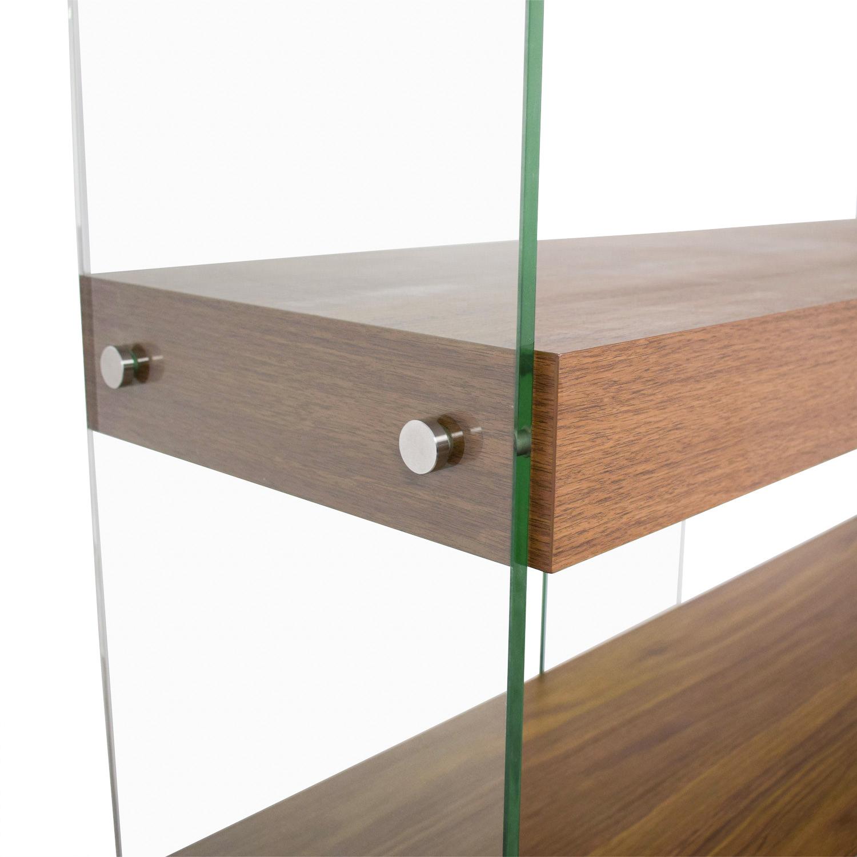 Made.com Made.com Wood and Glass Bookcase Storage