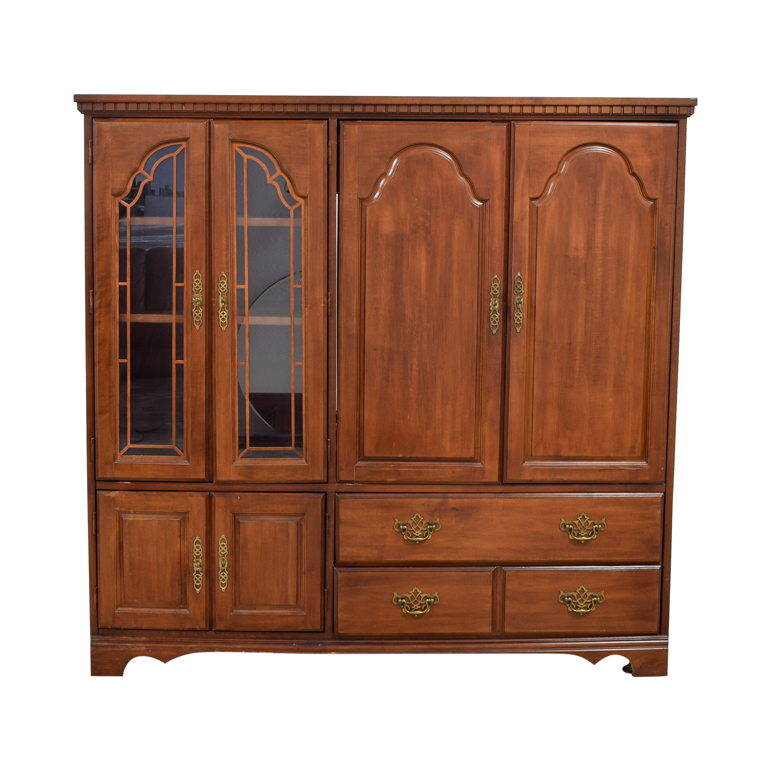 JC Penney JC Penney Wood Media Storage Cabinet nj