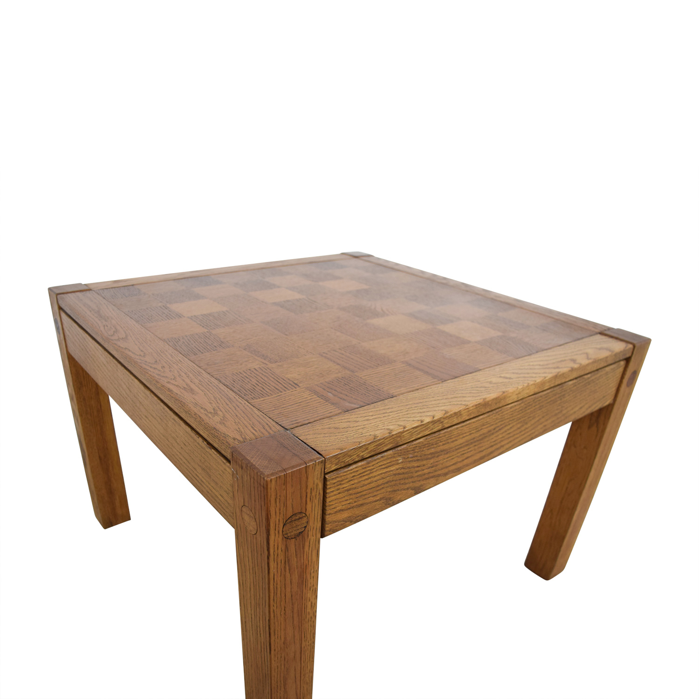 Ordinaire ... Shop Conant Ball Conant Ball Single Drawer Checkerboard Coffee Table  Online ...