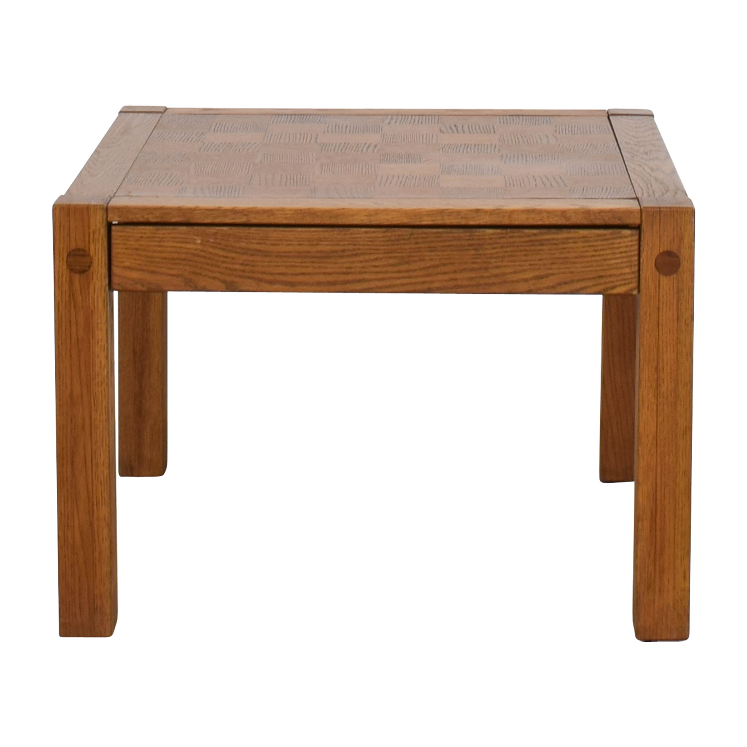 Conant Ball Single Drawer Checkerboard Coffee Table / Coffee Tables