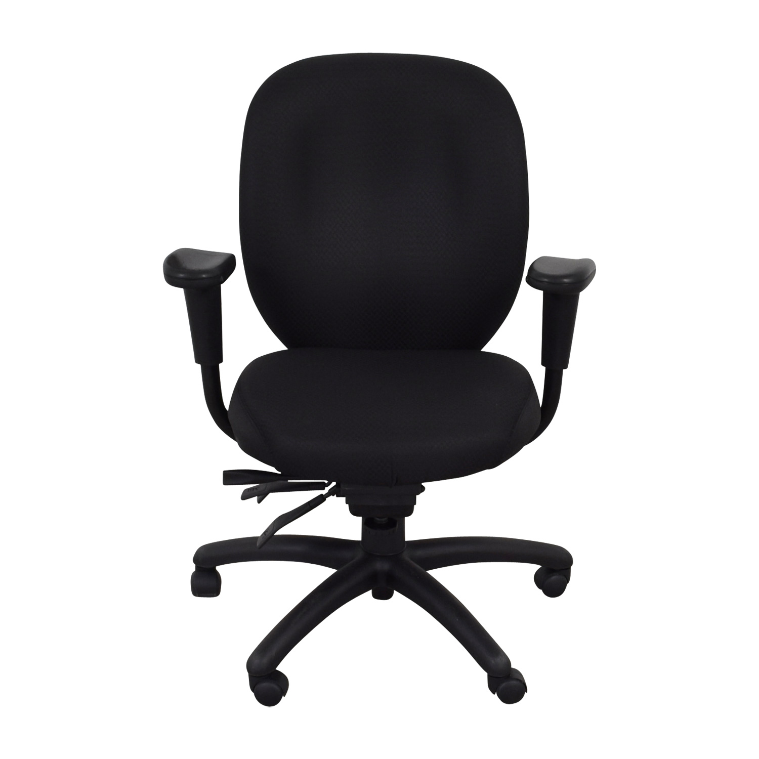 Office To Go Office To Go Black Quilt Office Chair Chairs