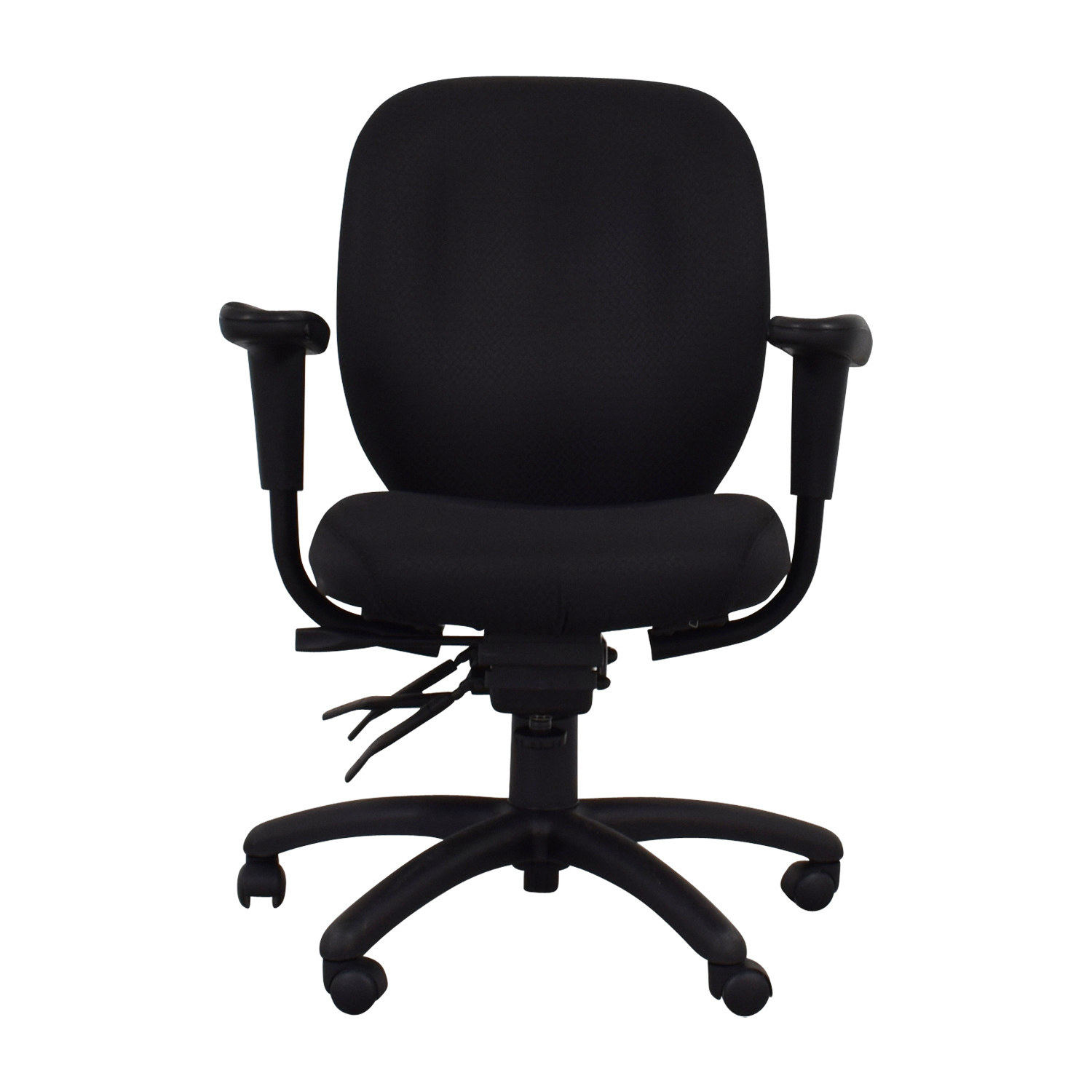 Office To Go Office To Go Black Quilt Office Chair second hand