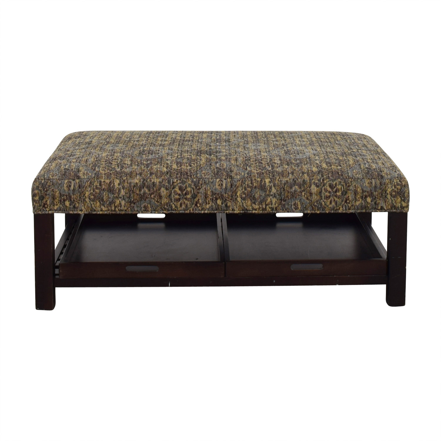 Arhaus Multi-Colored Ottoman with Storage Trays Arhaus ...  sc 1 st  Furnishare & 90% OFF - Arhaus Arhaus Multi-Colored Ottoman with Storage Trays ...