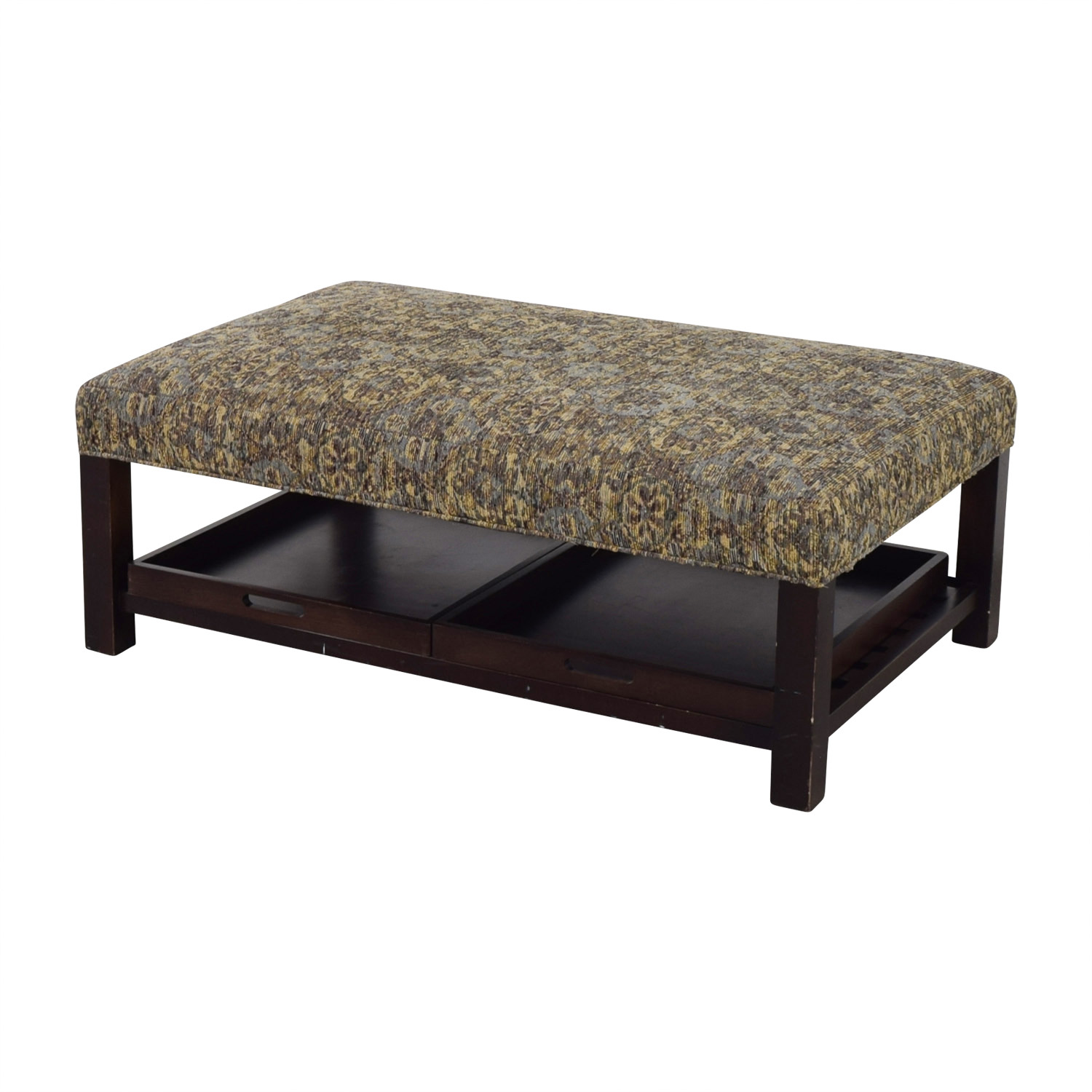 ... Arhaus Arhaus Multi-Colored Ottoman with Storage Trays discount ...  sc 1 st  Furnishare & 90% OFF - Arhaus Arhaus Multi-Colored Ottoman with Storage Trays ...