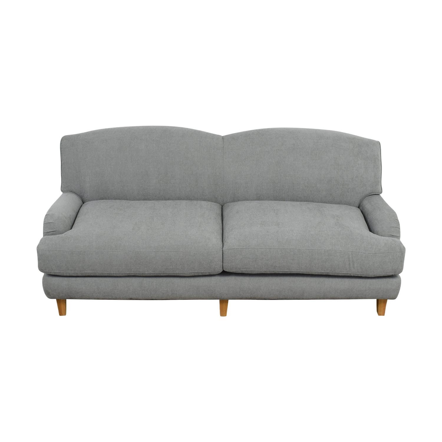 buy Grey Two-Cushion Love Seat online