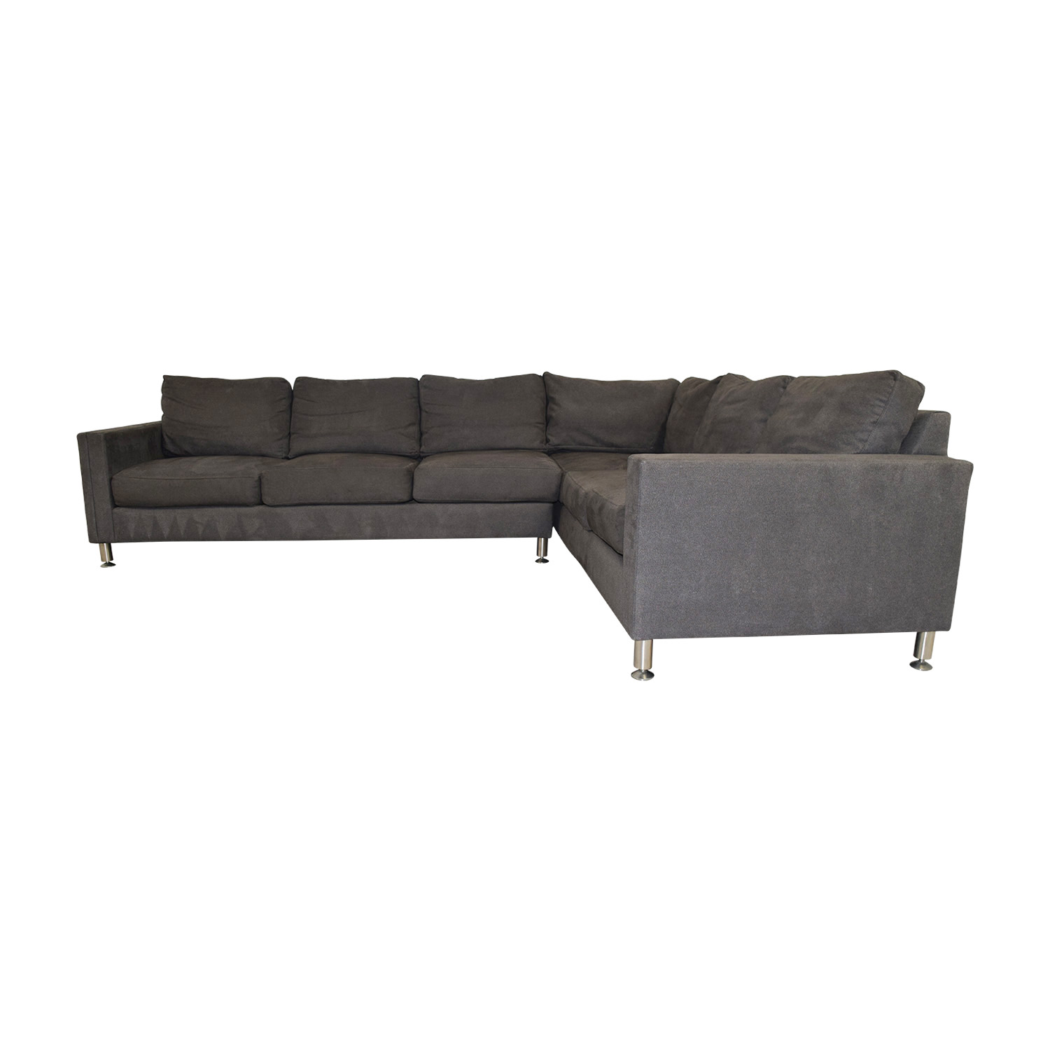 Safavieh Safavieh Grey L-Shaped Sectional for sale