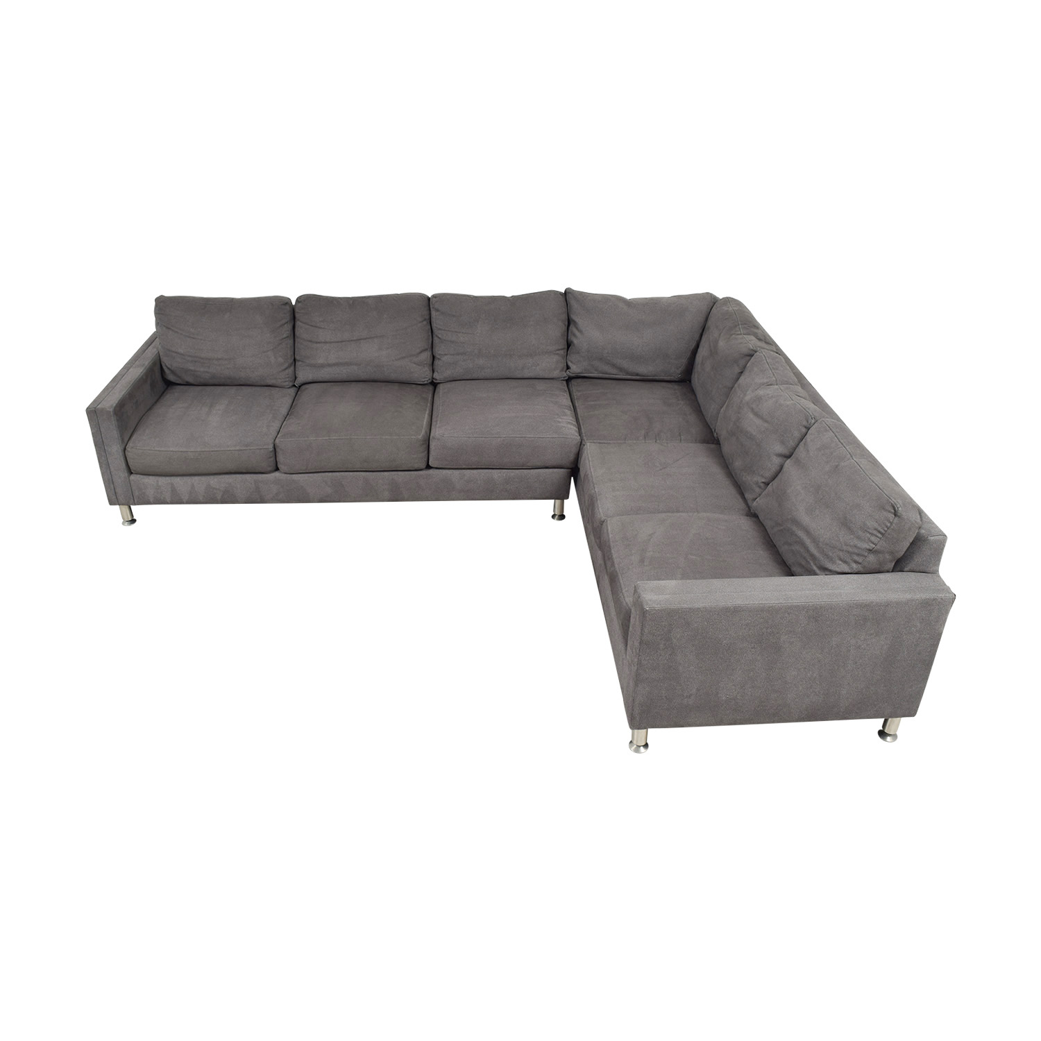 Safavieh Safavieh Grey L-Shaped Sectional Sectionals