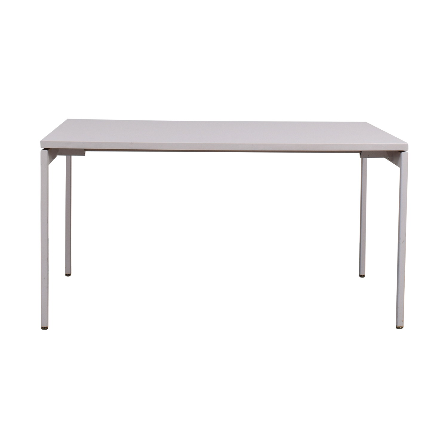 Knoll Knoll White Desk dimensions