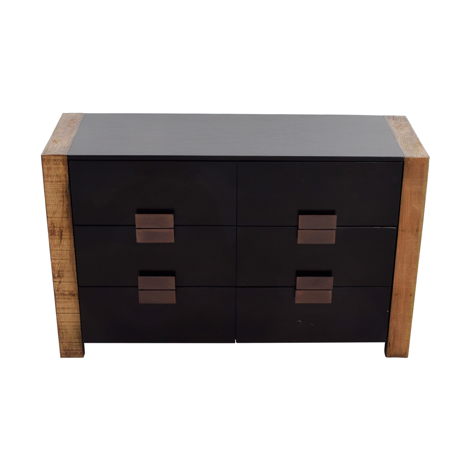 Environment Furniture Santos Six-Drawer Two-Toned Dresser sale