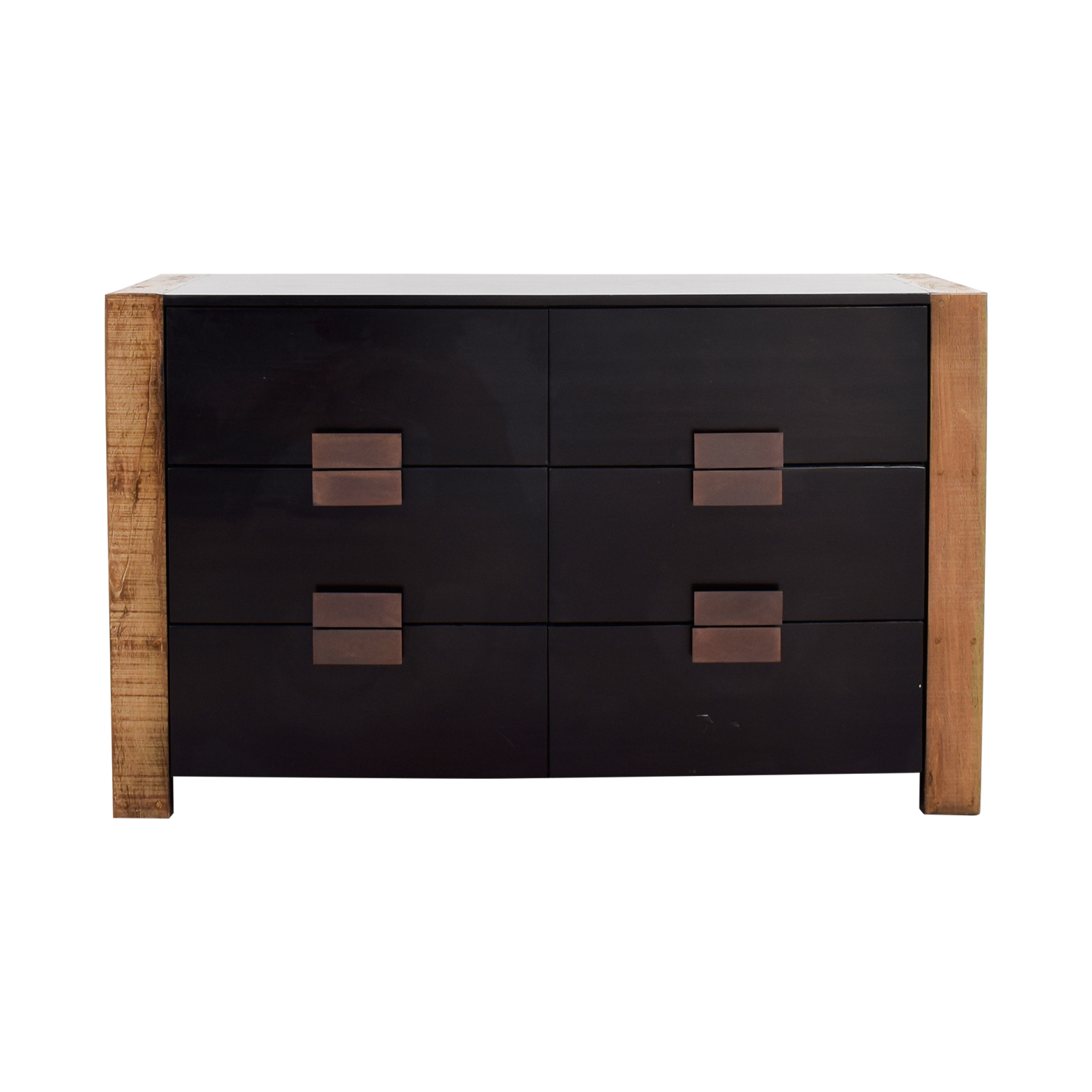buy Environment Furniture Santos Six-Drawer Two-Toned Dresser Environment Furniture Dressers