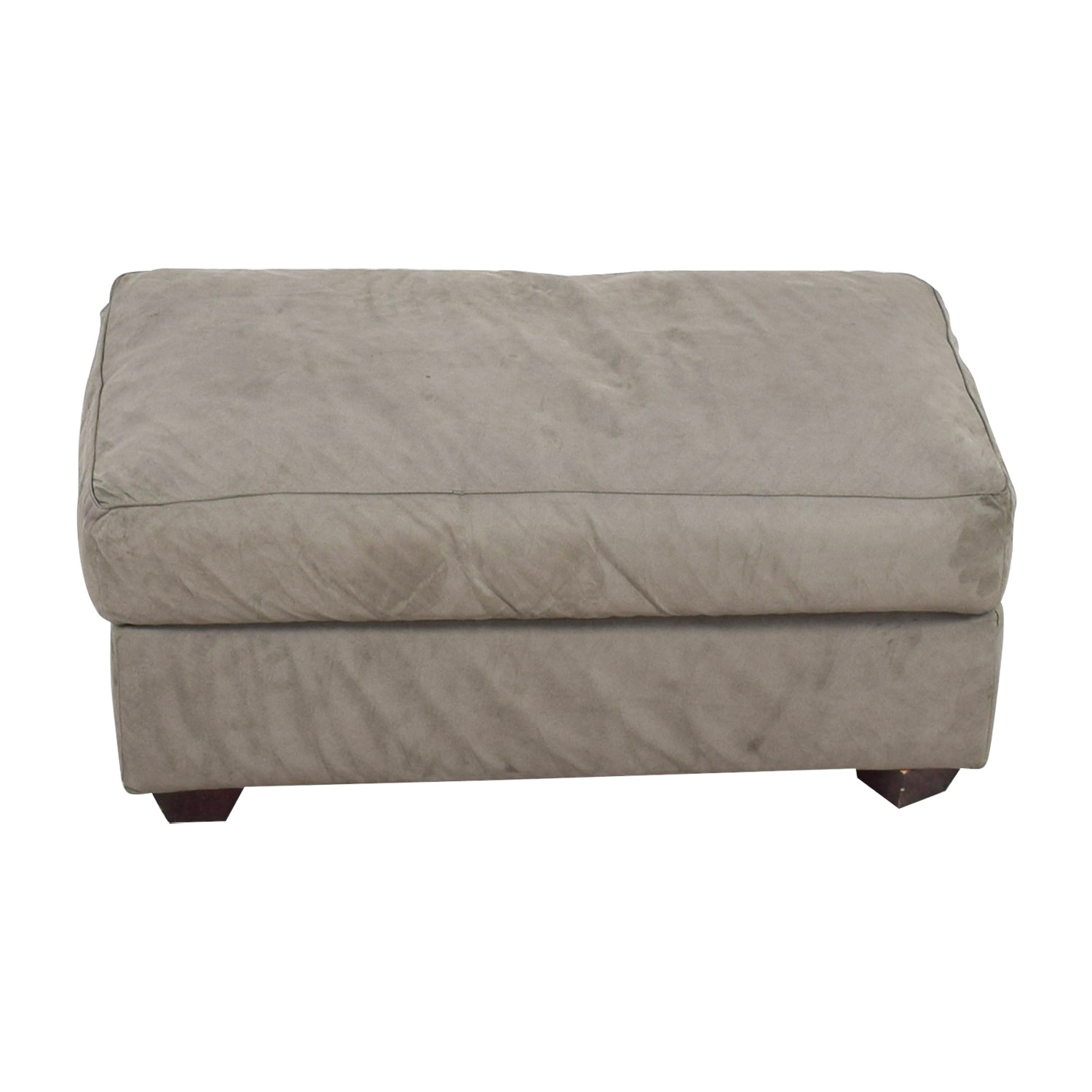 Palezetti 1930 Palezetti 1930 JM Frank Inspired 1930 Grey Ottoman on sale