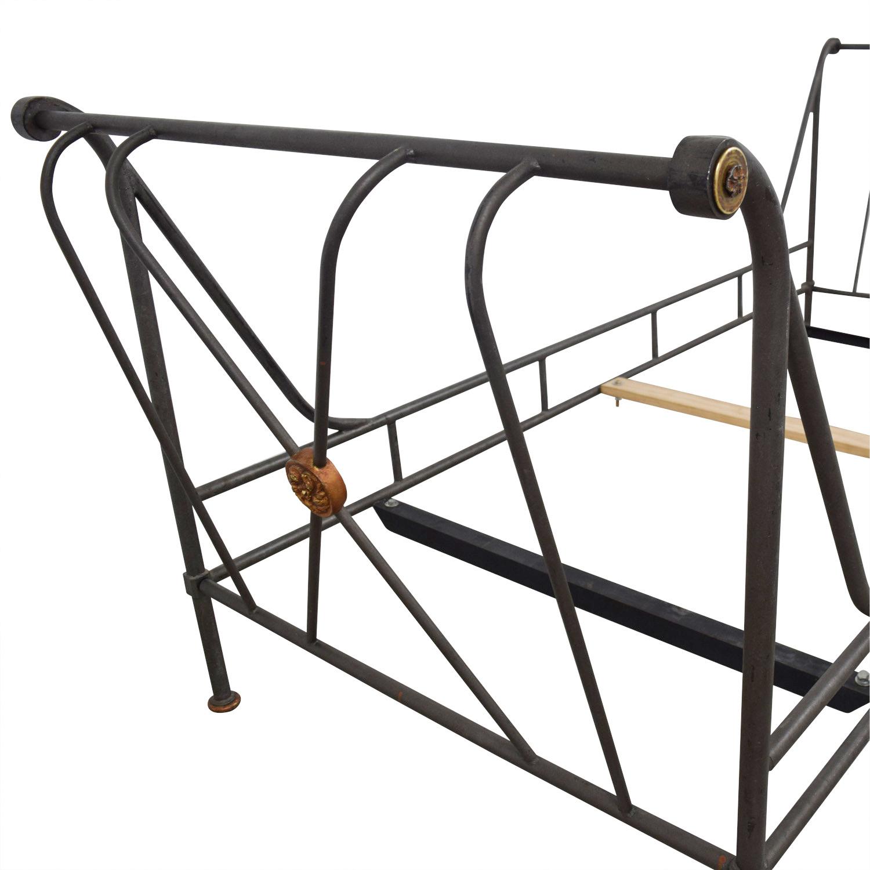 shop Designer Custom Metal Daybed  Bed Frames
