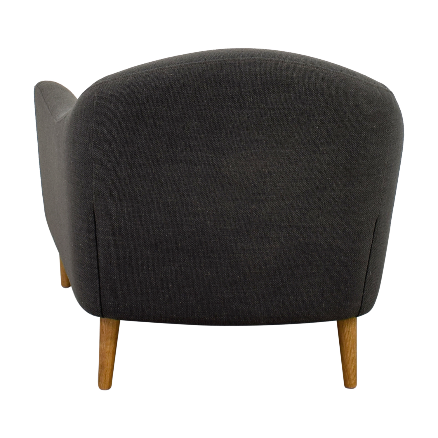 Crate & Barrel Grey Accent Chair / Chairs