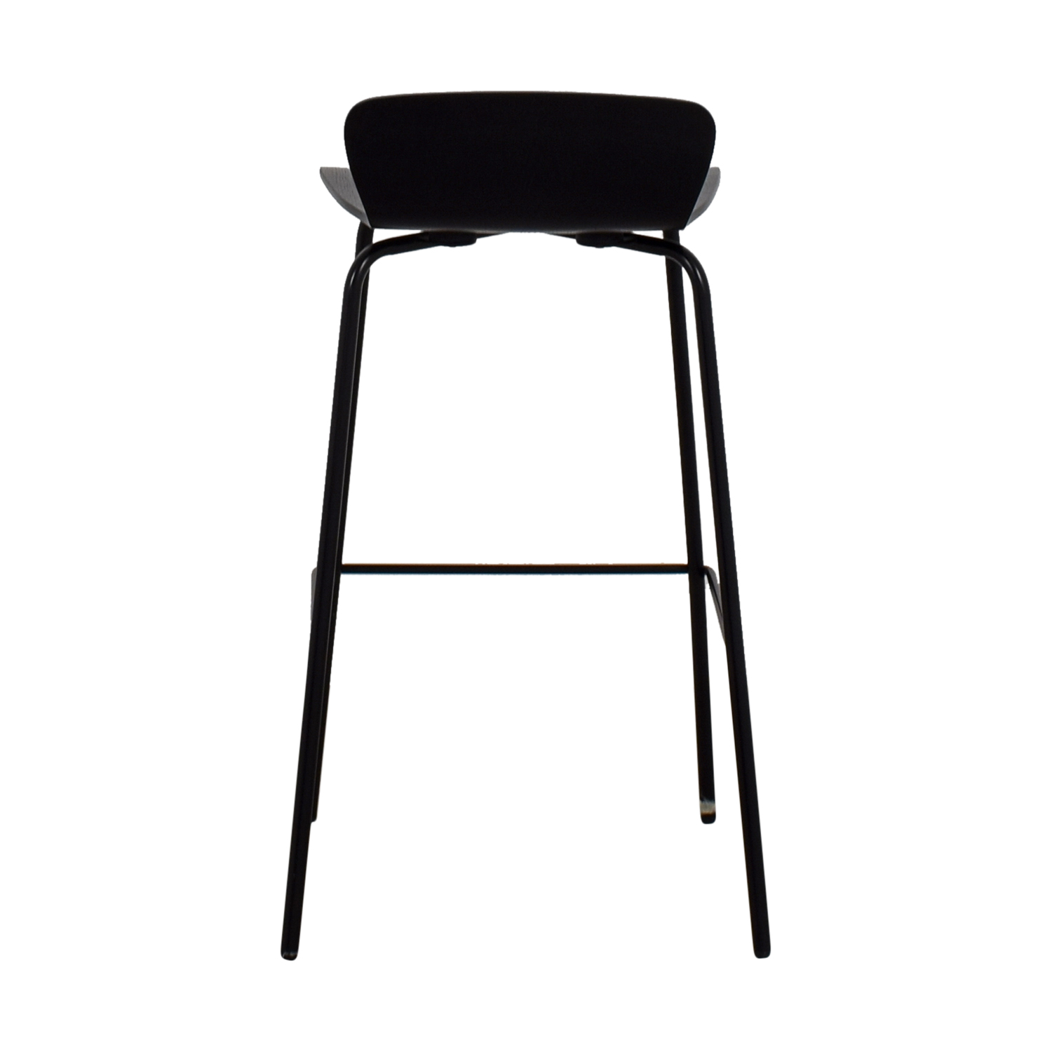 buy Crate & Barrel Black Barstool Crate & Barrel