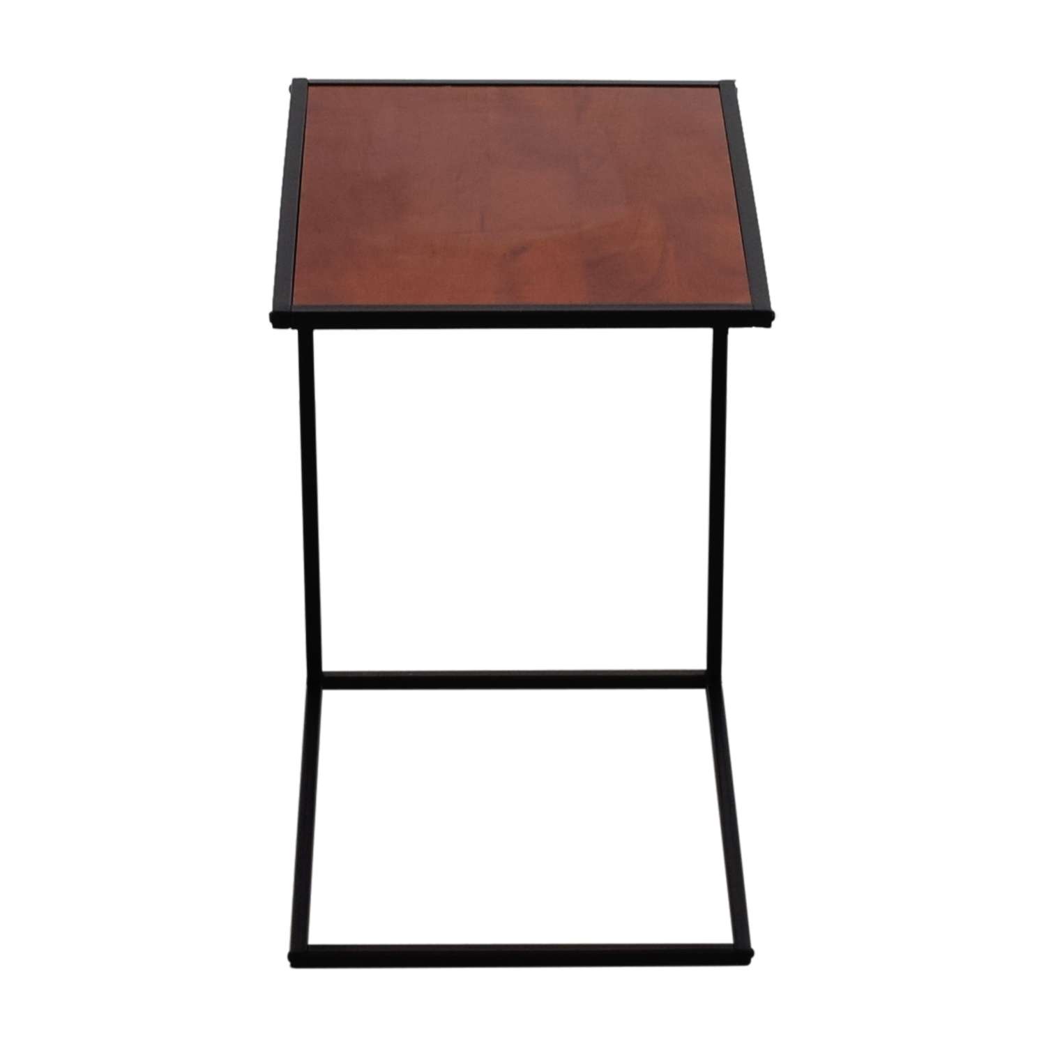 shop Wood and Metal Side Table