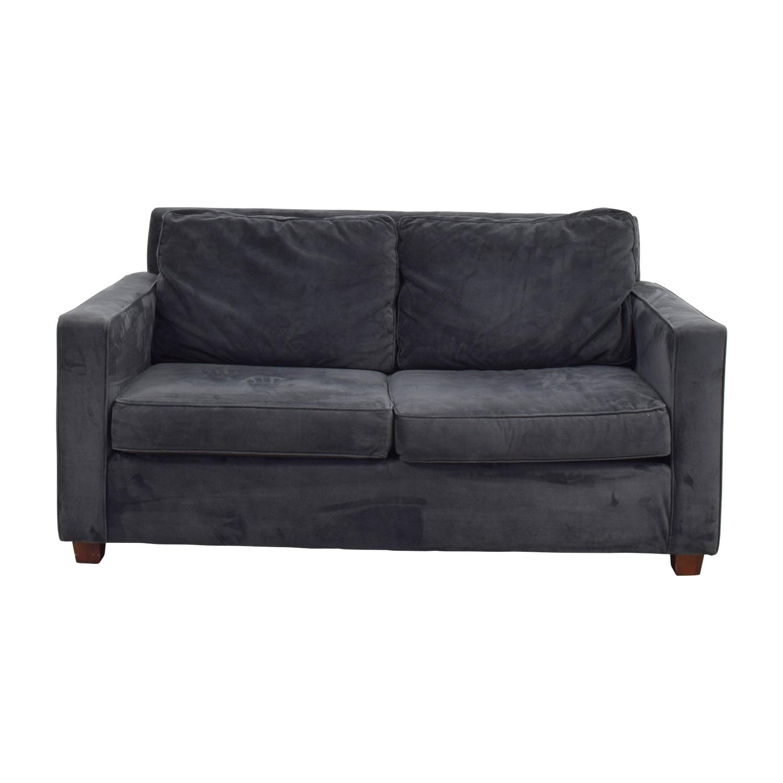 West Elm West Elm Henry Grey Sofa discount
