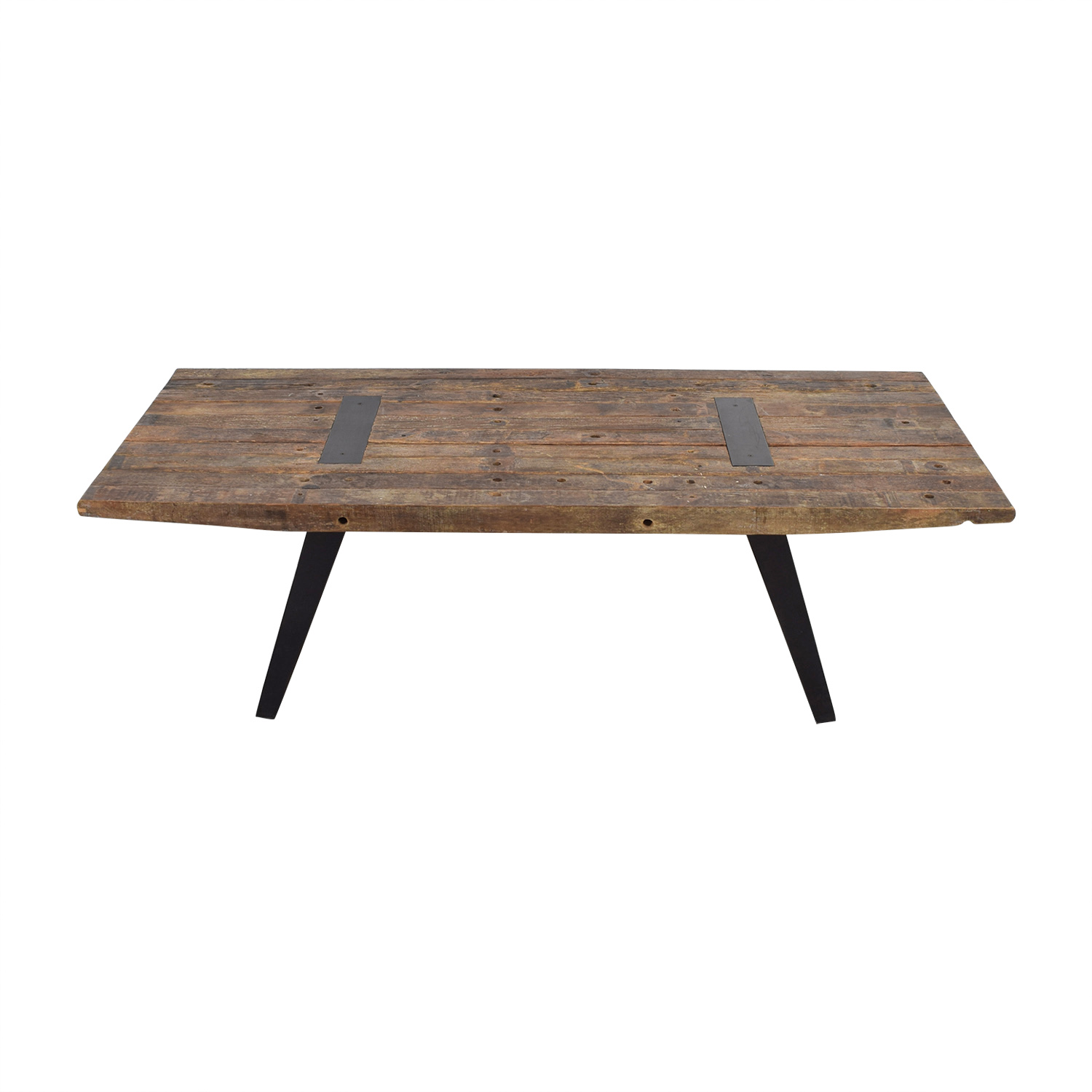 Rustic Wood Simon Dining Table sale