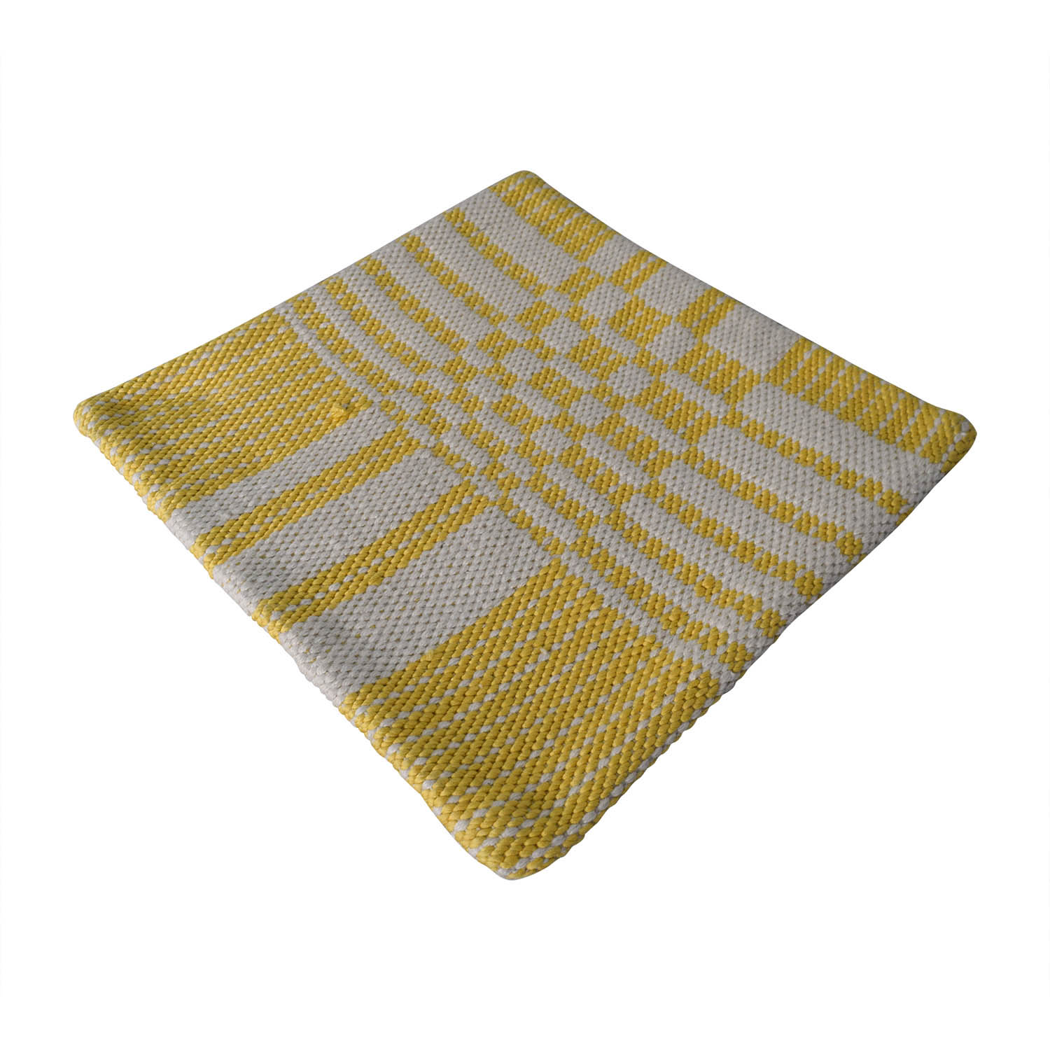Obeetee Obeetee Geo Yellow Cushion Cover nj
