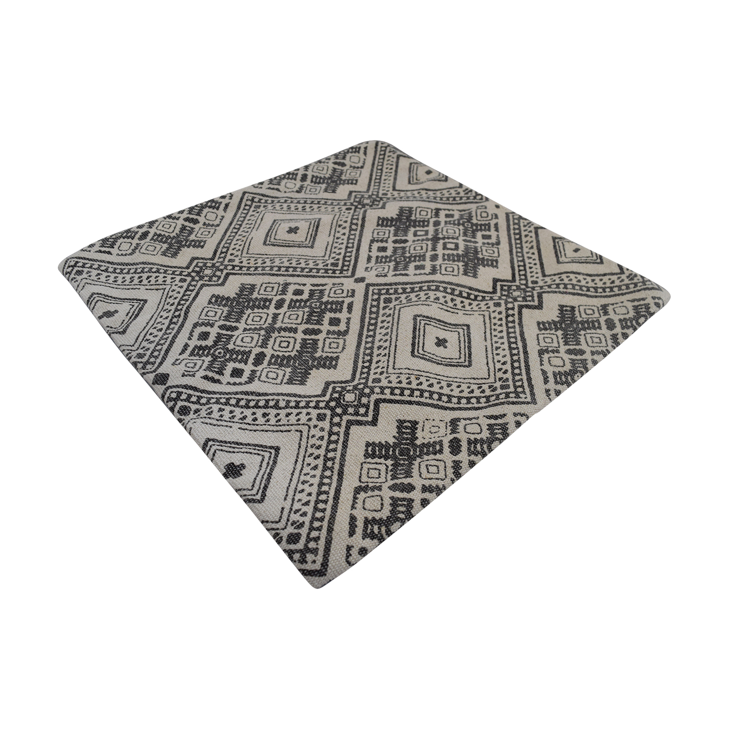 Obeetee Obeetee Azmat Grey Cushion Cover Decorative Accents