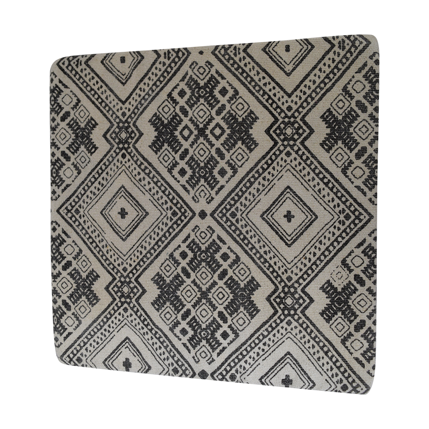 Obeetee Obeetee Azmat Grey Cushion Cover nyc