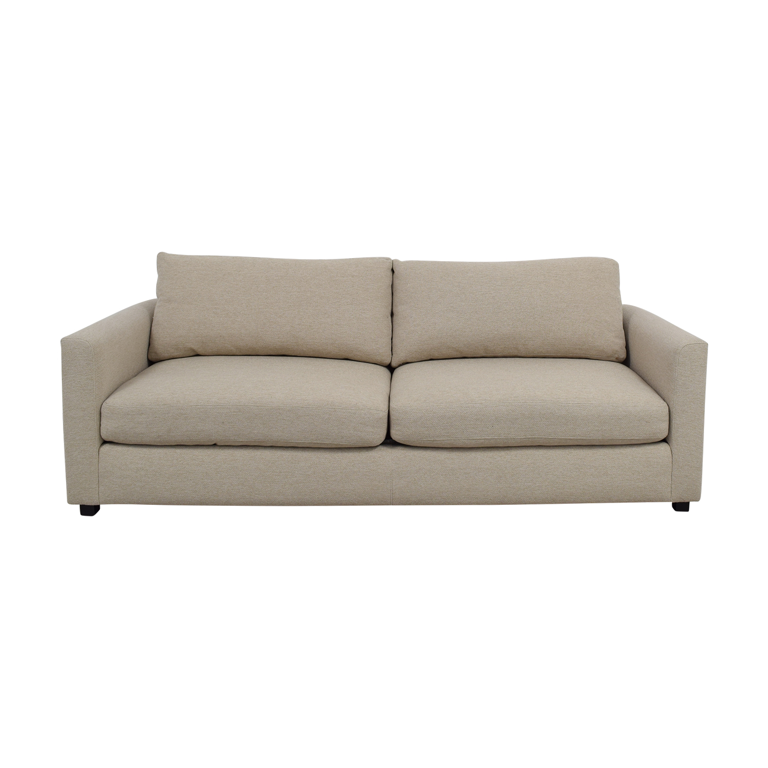 Room & Board Room & Board Morrison Beige Two-Cushion Couch price