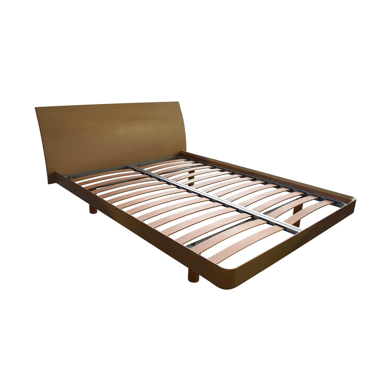 Jesse  Furniture Jesse  Furniture Wood Queen Platform Bed nj