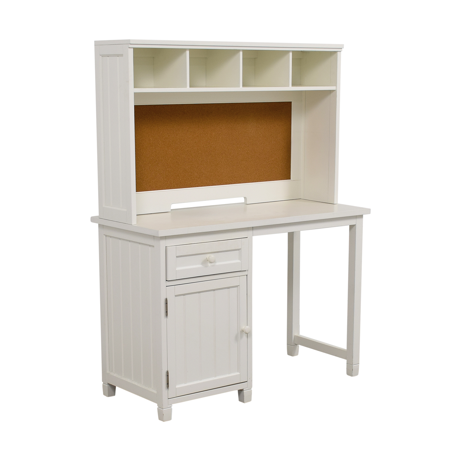82 Off Pottery Barn Teen Pottery Barn Teen White Desk And Hutch