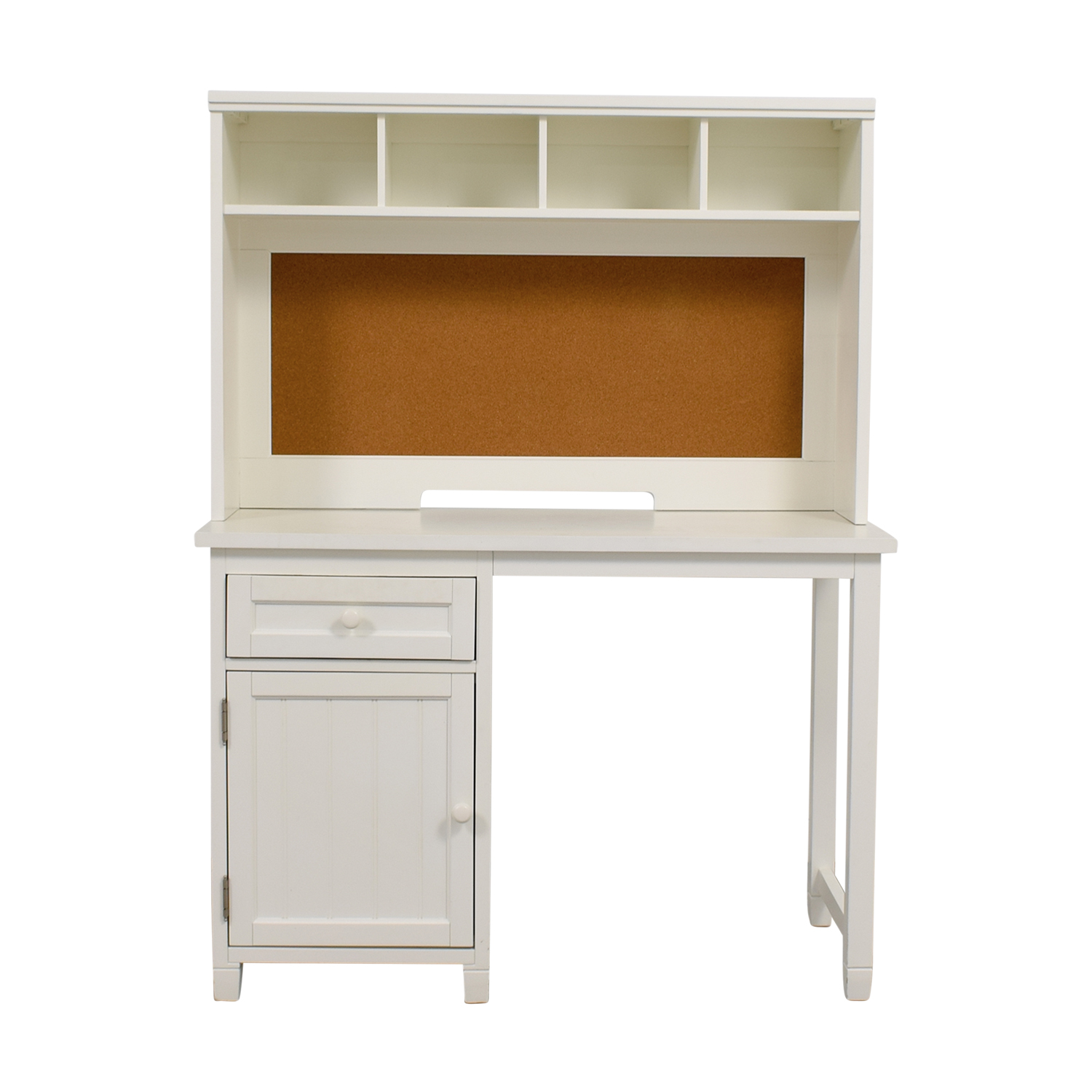 Pottery Barn Teen White Desk And Hutch Home Office Desks