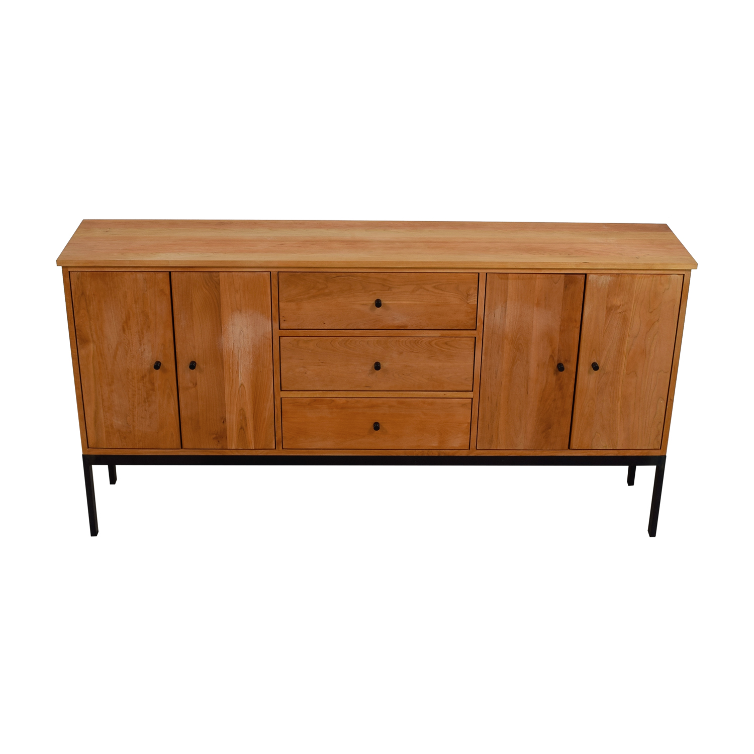 Room & Board Wood Storage Cabinet / Cabinets & Sideboards