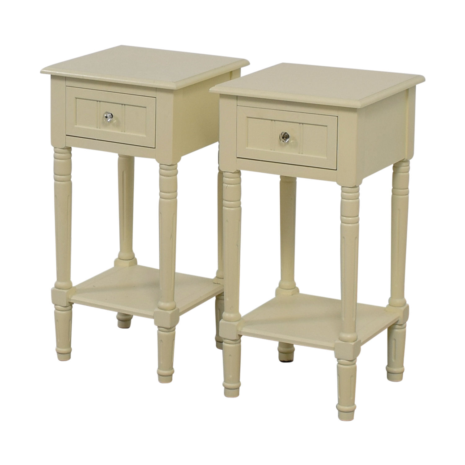 Wayfair Lillian Off White Night Stands / Tables