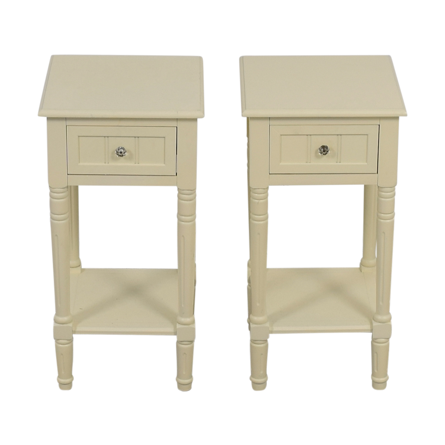 Wayfair Wayfair Lillian Off White Night Stands End Tables
