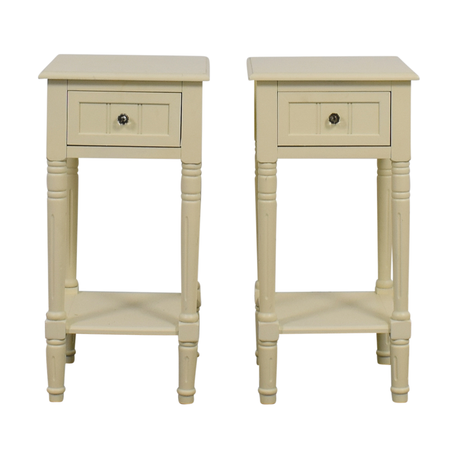 Wayfair Wayfair Lillian Off White Night Stands second hand