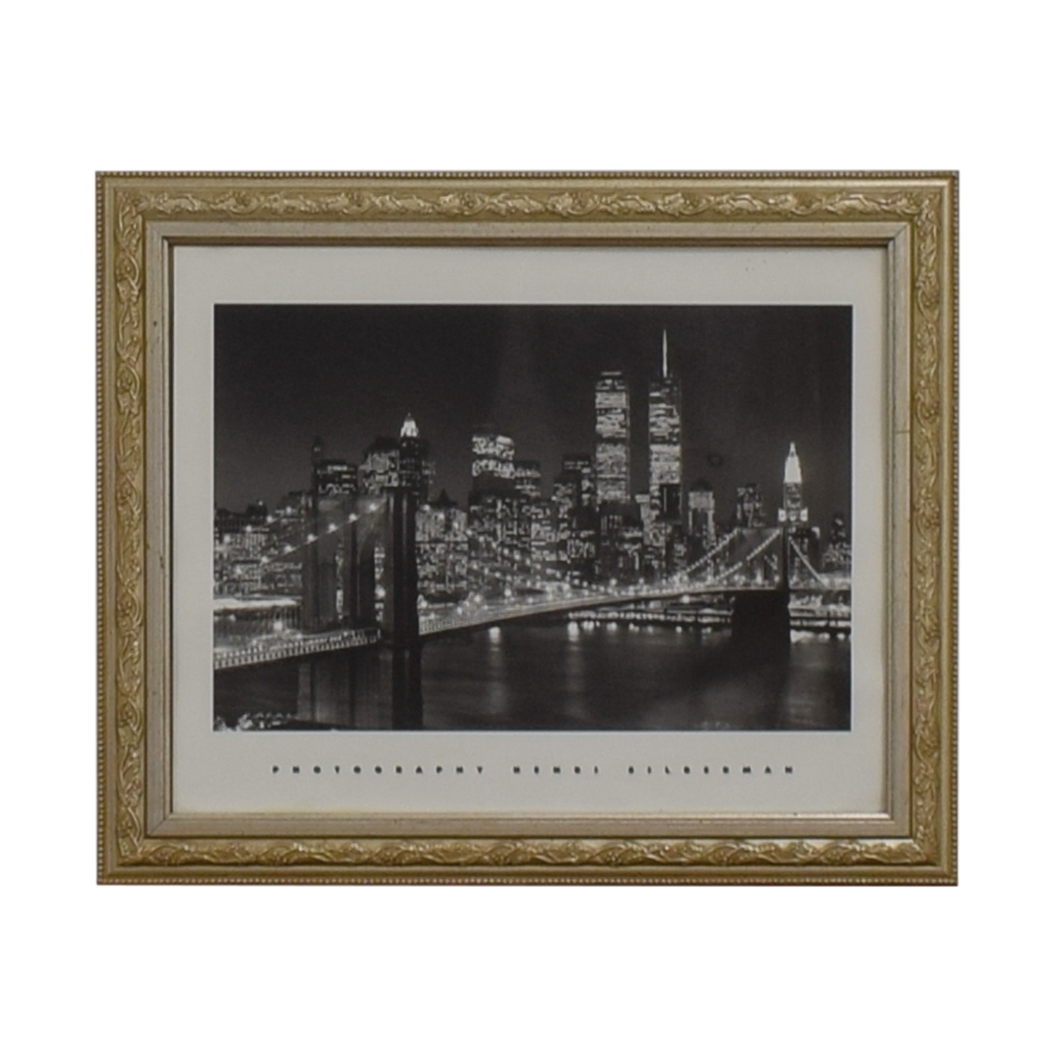shop Silver Framed NYC Print Wall Art