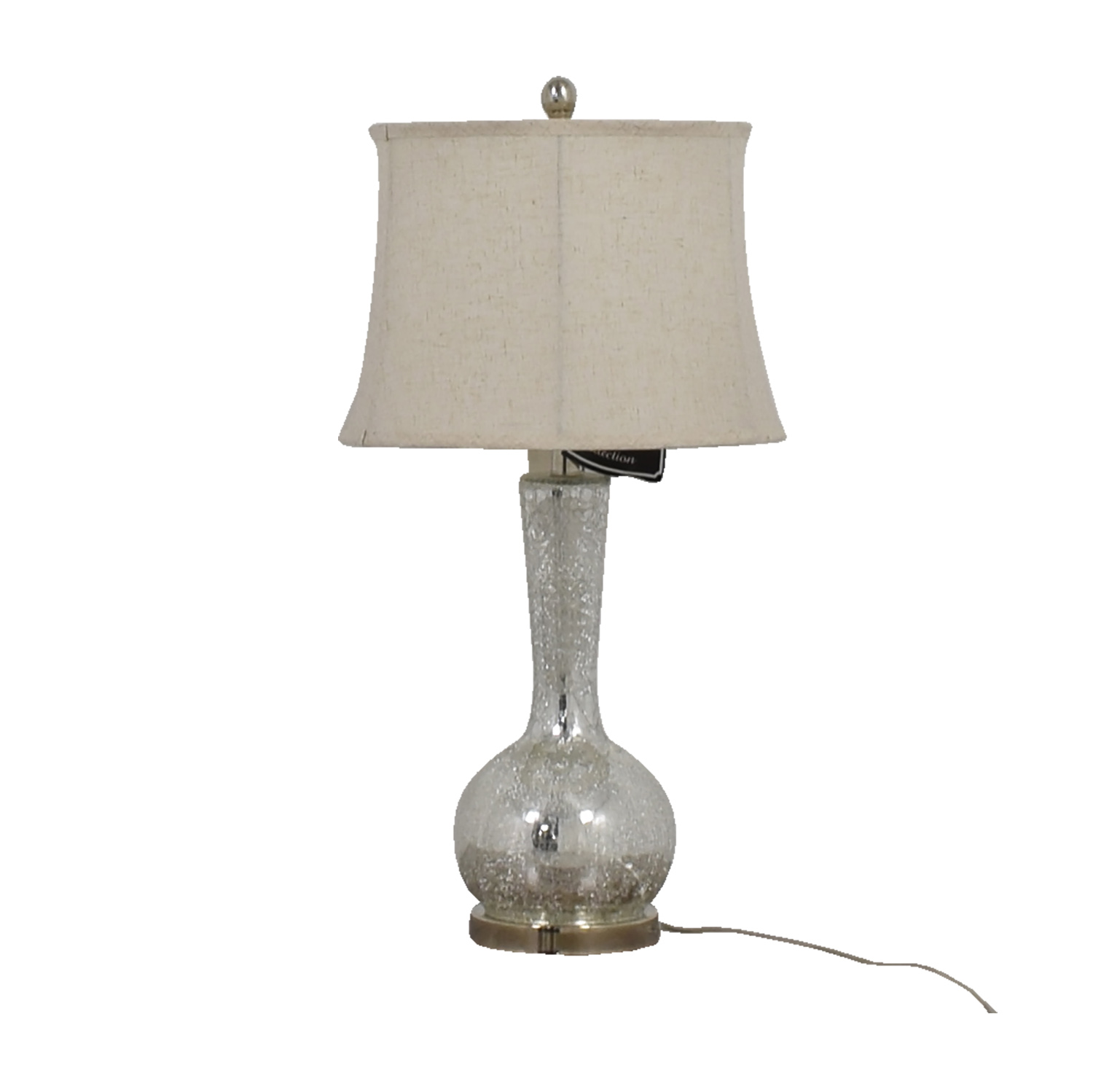 Martin Richards Crackle Glass Table Lamp / Lamps