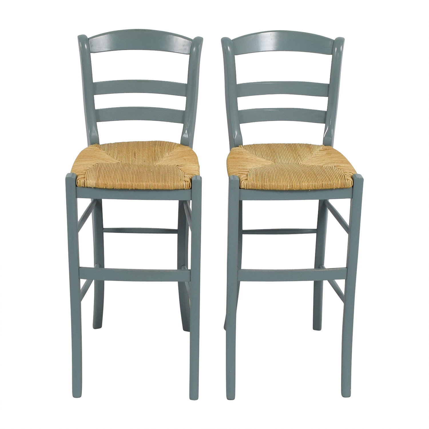 OFF Pottery Barn Pottery Barn Isabella Wood Bar Stools Chairs