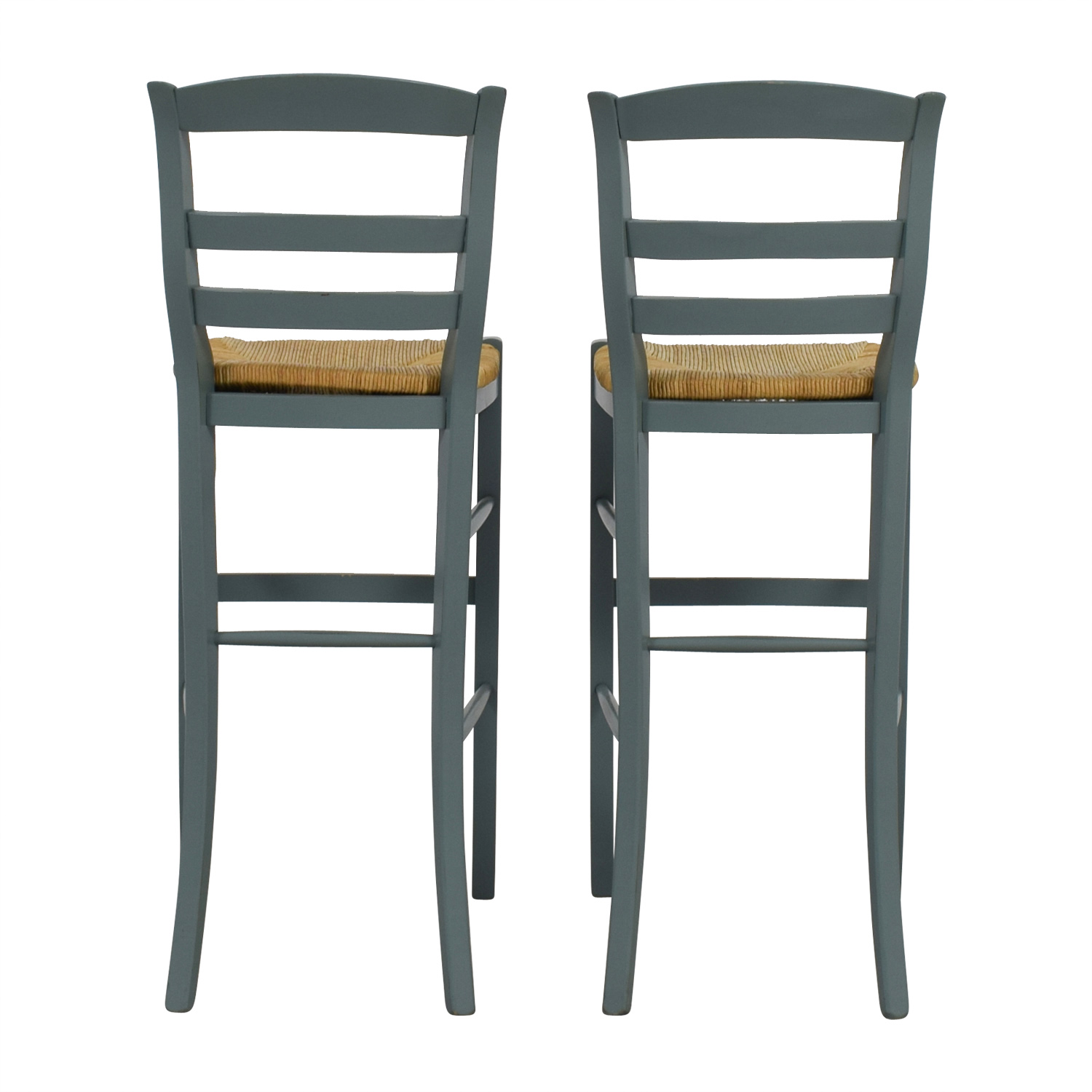 Marvelous 77 Off Pottery Barn Pottery Barn Isabella Wood Bar Stools Chairs Machost Co Dining Chair Design Ideas Machostcouk