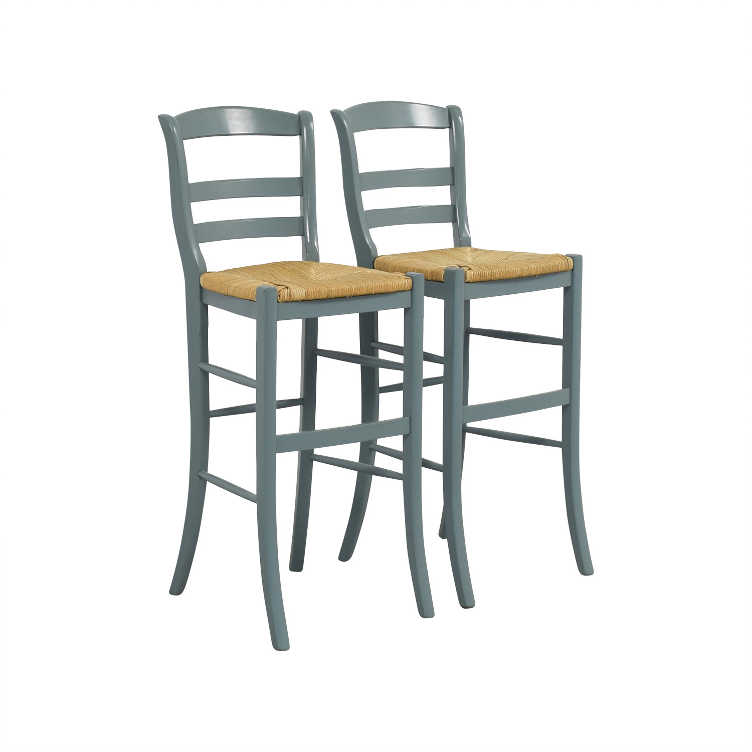 Miraculous 77 Off Pottery Barn Pottery Barn Isabella Wood Bar Stools Chairs Machost Co Dining Chair Design Ideas Machostcouk