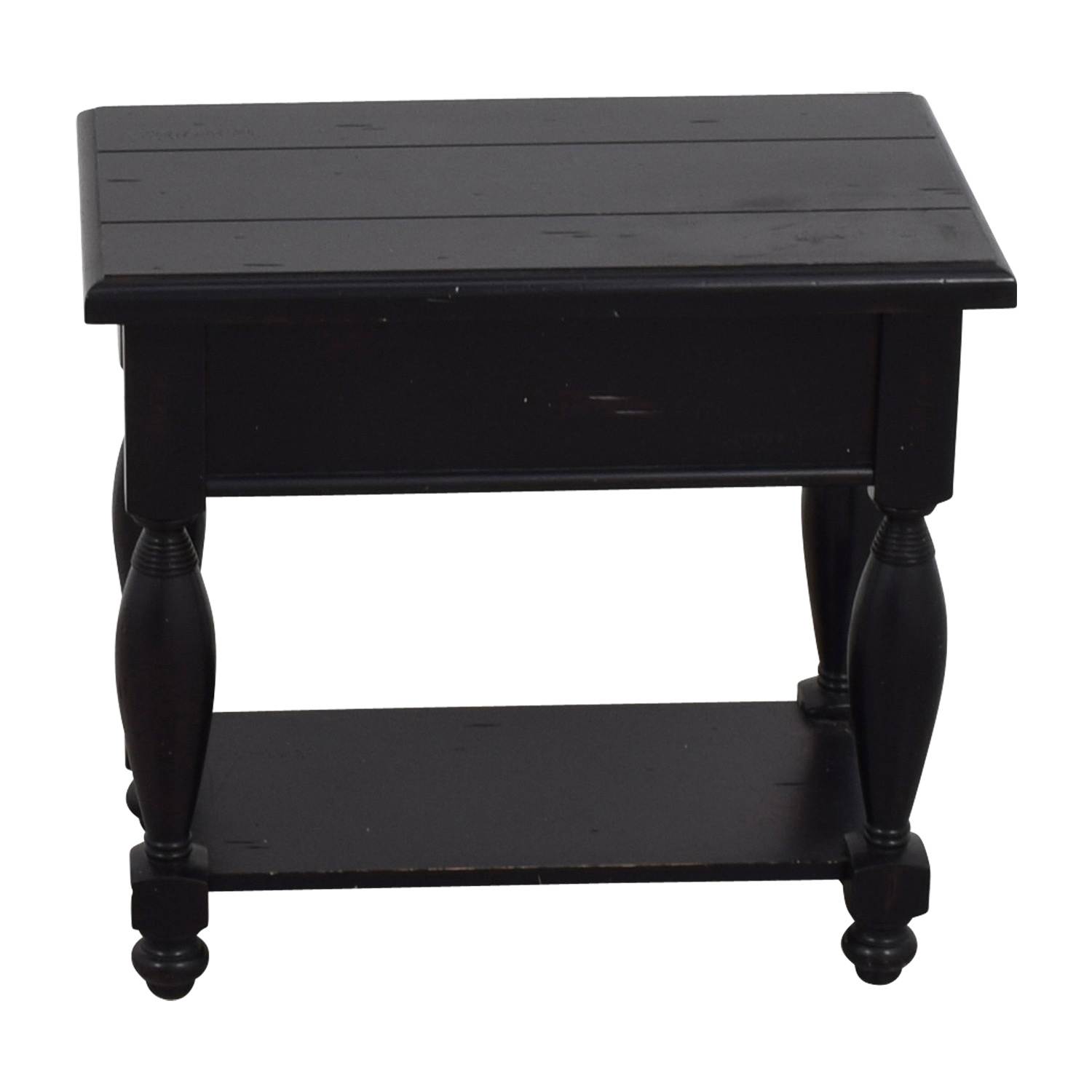 buy Raymour & Flanigan Black Side Table Raymour & Flanigan Storage