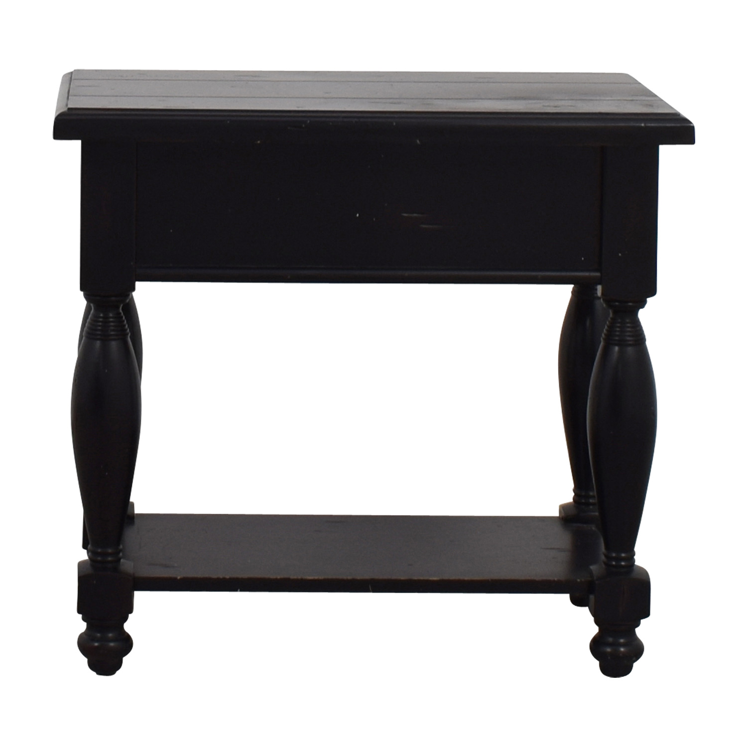 Raymour & Flanigan Raymour & Flanigan Black Side Table Cabinets & Sideboards