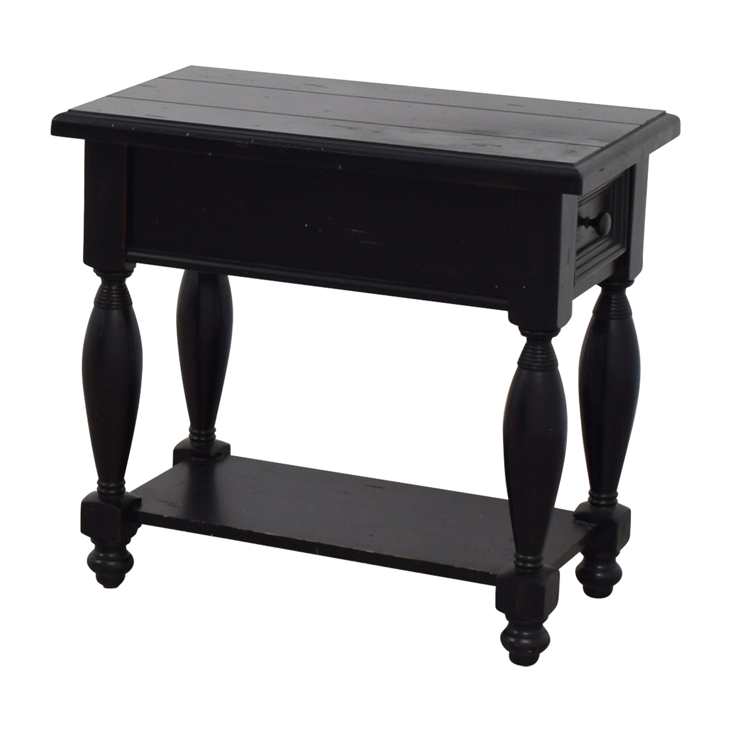 shop Raymour & Flanigan Raymour & Flanigan Black Side Table online
