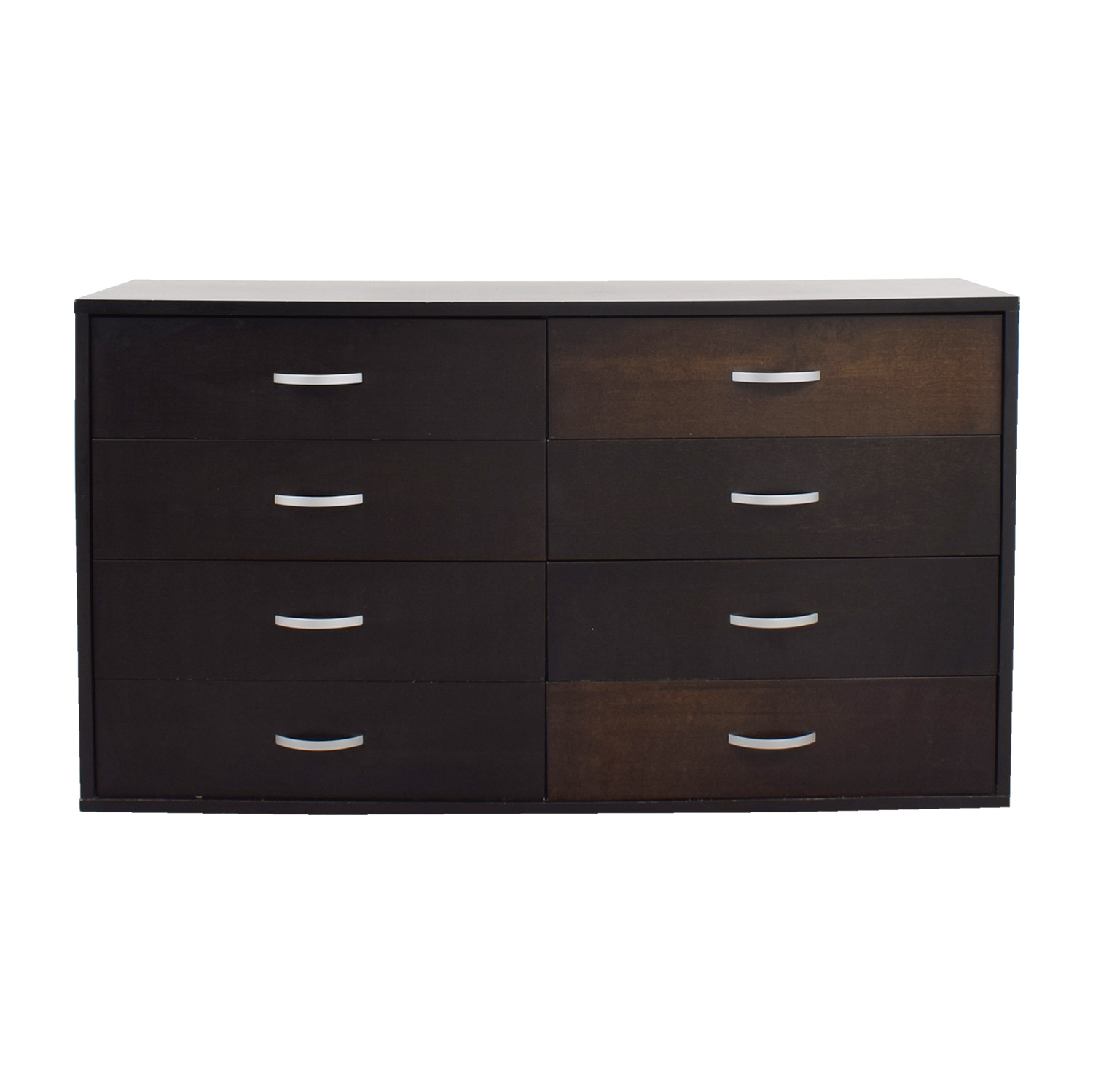 buy Black Eight-Drawer Dresser online