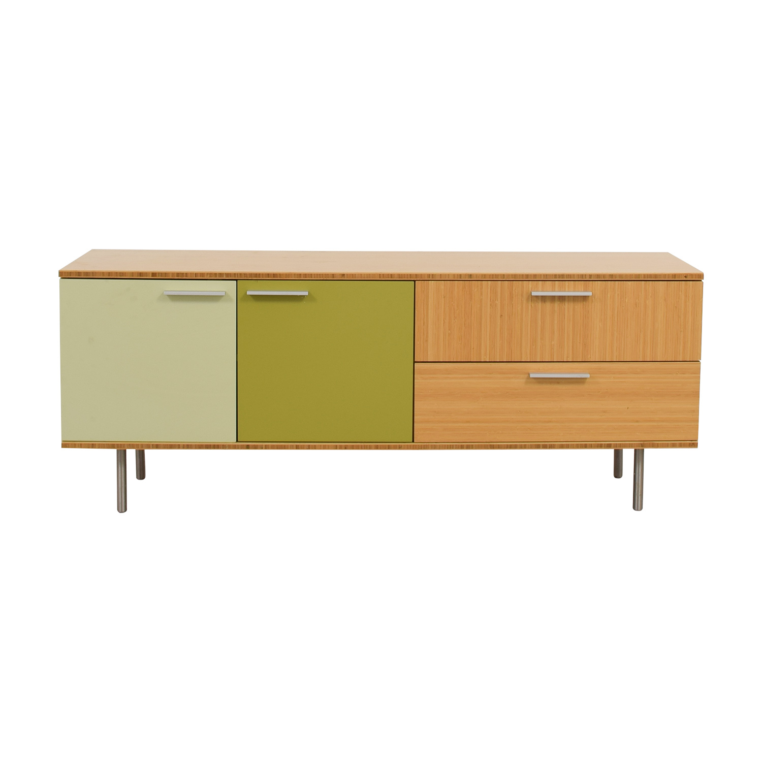 shop Wonk Clermont Multi-Colored Credenza Wonk